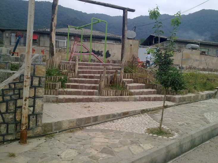پارک کودک روستای مرزبن