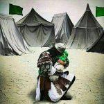 مراسم تعزیه خوانی گروه نینوای روستای مرزبن