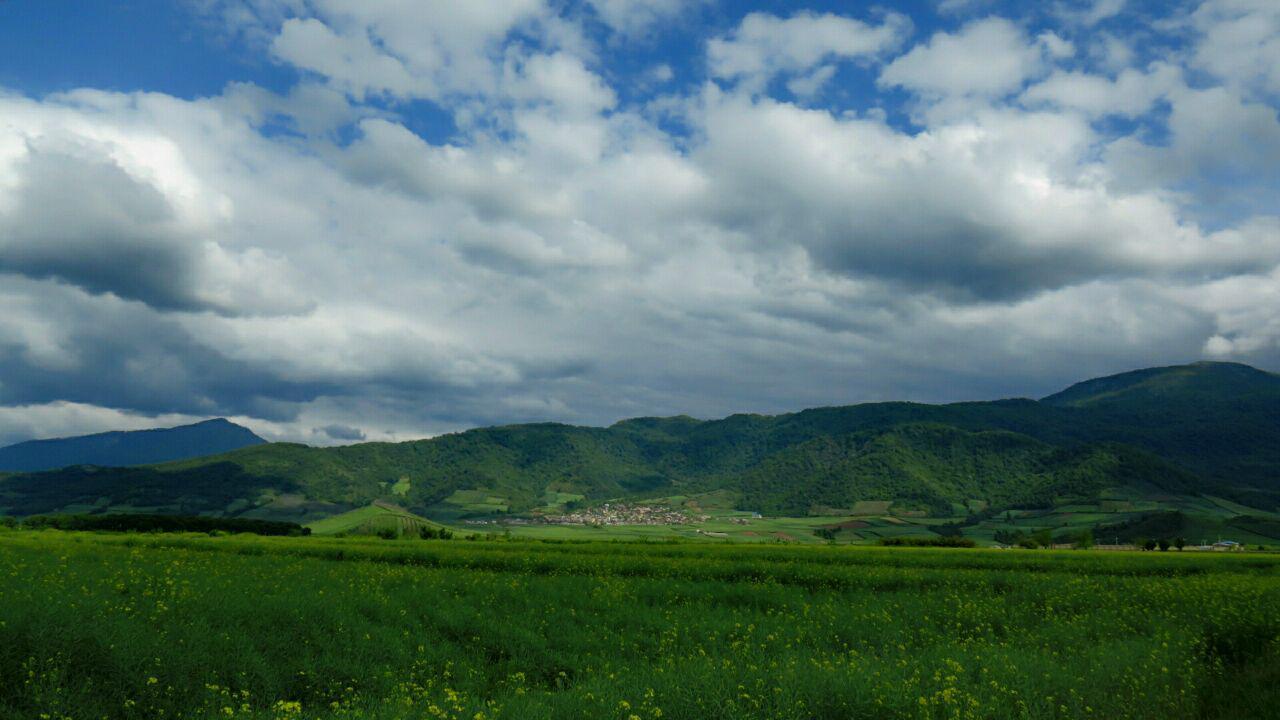 طبیعت روستای مرزبن